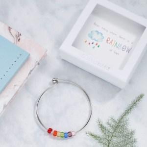 BG007 Rainbow of Hope Bracelet
