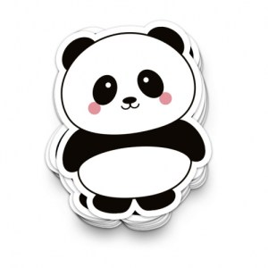 STICKER XL PANDA