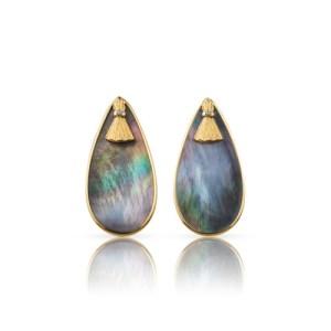 Abalone Gold Earrings - file1 7