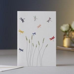 Dragonflies & Grass