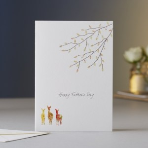 Father's Day Deer Greeting Card