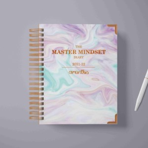 The Master Mindset Diary 2021-22- PREORDER