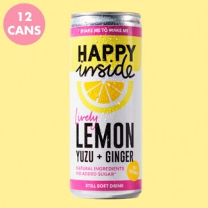 Lemon, Yuzu & Ginger (case of 12)