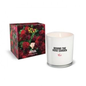 Wild Velvet Rose Scented Candle in Glass jar (65 burning hours)