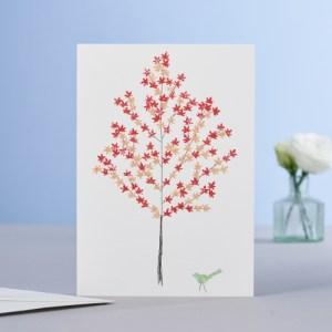 Maple Tree Blank Card