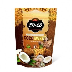 COCOSWEET | LUSCIOUS NUTMEG | CANDIED COCONUT SNACK