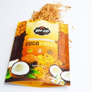 COCOSWEET   PLAIN   CANDIED COCONUT SNACK