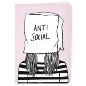 Anti Social A5 Notebook