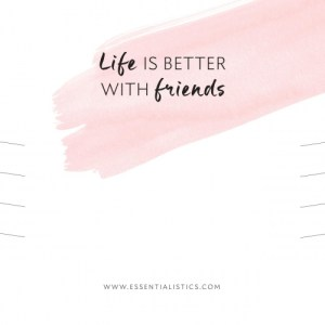"""BRACELET CARD """"LIFE IS BETTER WITH FRIENDS"""""""