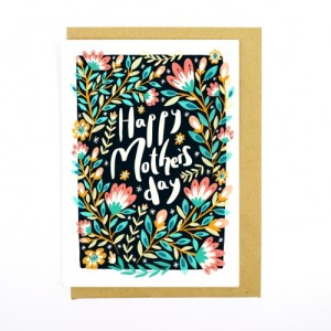 Happy Mother's Day Recycled Card