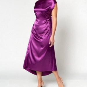 Belle Dress – Purple