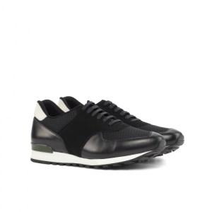 Black Runner Shoes