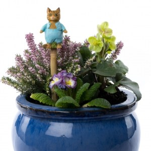 Beatrix Potter Tom Kitten Cane or Stake Topper
