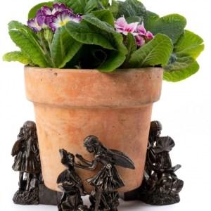 Sweet Pea Flower Fairies Plant Pot Feet – Set of 3