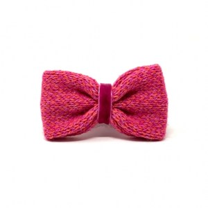 Geranium & Pink – Harris Design – Handmade Dog Bow Tie
