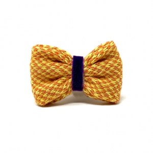 Yellow & Orange – Harris Design – Handmade Dog Bow Tie