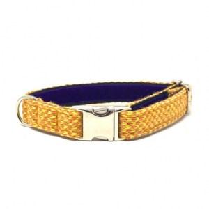Yellow & Orange – Harris Design – Handmade Dog Collar