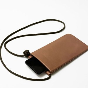"""Leather """"Bow"""" phone case"""