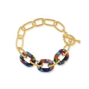 Amy Matte Resin Chunky Bracelet - Red/Orange/Lilac - il 1140xN.2896346794 lxu2 500x500