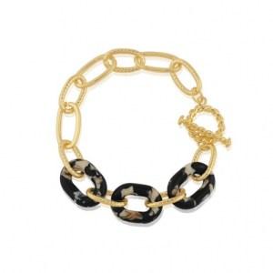 Amy Matte Resin Chunky Bracelet - Blue/Yellow/Brown - il 794xN.2944025061 g7uq 500x500