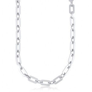 Arlette Statement Chunky Chain Necklace - Silver - il 1140xN.2894346970 ltly 500x500
