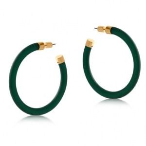 Isabella Resin and Metal Hoop Earrings - Green - il 1140xN.3032788214 ki6v 500x500