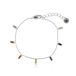 Iris Rainbow Baguette Stones Delicate Bracelet - Silver - il 1140xN.2944190501 7ta3 500x500