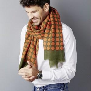 Taklamakan Soft and warm wool scarf