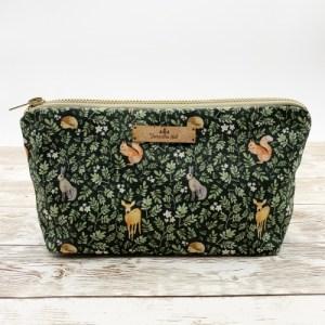 Woodland cosmetic bag