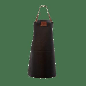 Leather Women's Apron – Black