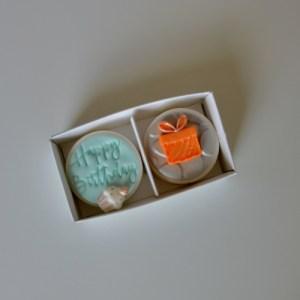 Birthday Duo Coated Oreo Gift Box