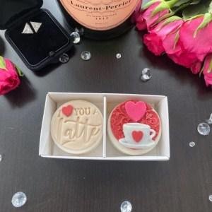 Love Duo Coated Oreo Gift Box