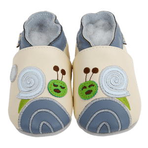 Soft Leather Baby Slippers Snail Dodo Kid shoes
