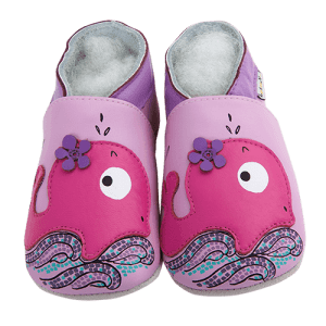 Soft Leather Baby Slippers Sporty Whale Kid shoes
