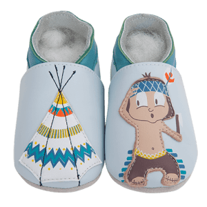 Soft Leather Baby Slippers Indian