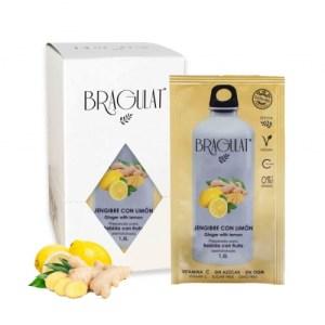 Ginger Bragulat with lemon pack (15 units)