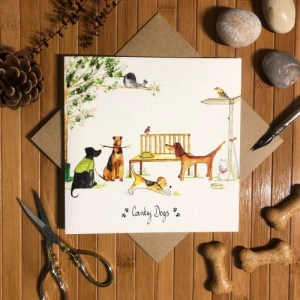 Country Dogs card