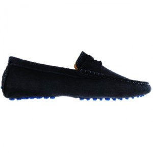 The Driver – Navy Blue Loafers