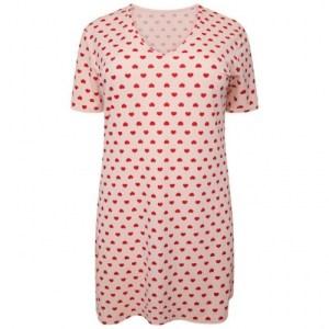 Plus Size Heart Nightwear ( Pack of 8)