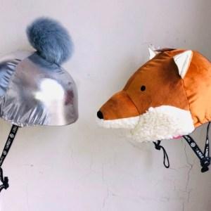 Fox design Horse riding helmet cover