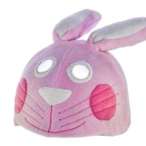 Ski helmet cover – Bunny