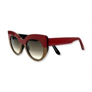 Gustavo Eyewear – G13 – RED / CAMEL