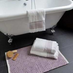 Diamond Jacquard Textured Bath Mat (4 Pack) - DSC 6914 copy Diamond Maueve 500x500