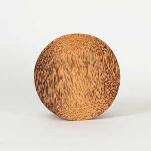 Coconut Wood Plate – Round (Pack of 6)