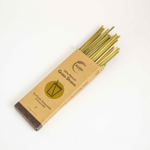 100% Natural Grass Straws (Pack of 6)