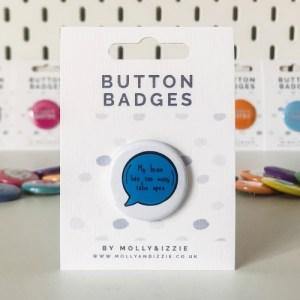 Too Many Tabs Badge (BB023)
