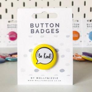 Be Kind Badge (BB019)