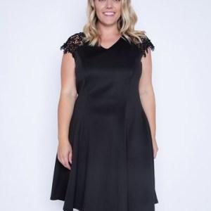 Plus Size V Neck Skater Dress ( Pack of 6)