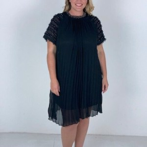 Plus Size Pleated Dress ( Pack of 6)