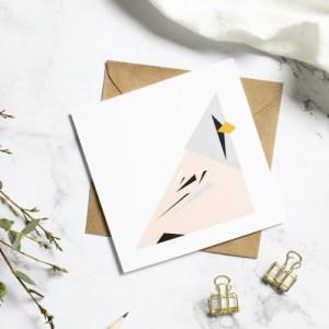 Bearded Tit card